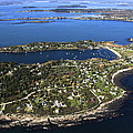 Bailey And Orrs Islands, Harpswell by Dave Cleaveland