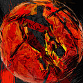 Basketball Abstract by David G Paul