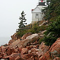 Bass Harbor Head Light by Christiane Schulze Art And Photography