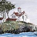 Battery Point Lighthouse  by Lynne Parker