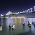 Bay Bridge In San Francisco by Jerome Obille