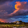 Beach Front Rain by Marvin Spates