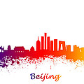 Beijing China Skyline  by Chris Smith