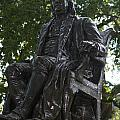 Benjamin Franklin Statue University Of Pennsylvania by Jason O Watson