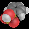 Benzenesulfonic Acid Molecule by Laguna Design/science Photo Library