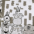 Berlin Wall Avatars by Shaun Higson