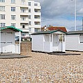 Bexhill Beach Huts by David Fowler