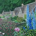 Bibury Gardens by Keith Wilkie