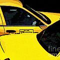 Big Yellow Taxis by Liz Leyden
