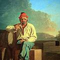 Bingham's Mississippi Boatman by Cora Wandel