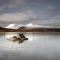 Black Mount And Lochan Na H-achlaise by Maria Gaellman
