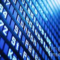 Blue Flight Board by Konstantin Sutyagin