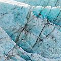 Blue Glacier Ice Background Texture Pattern by Stephan Pietzko