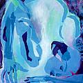 Blue Nude by Diane Fine