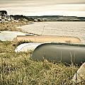 Boats At Findhorn by Tom Gowanlock