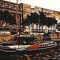 Boats On The Seine by Bill Howard