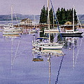Boothbay Harbor by Karol Wyckoff