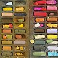 Box Of Pastels by Bernard Jaubert