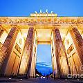 Brandenburg Gate Berlin Germany by Michal Bednarek