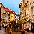Bratislava Old Town by Les Palenik