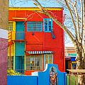 Bright Colors In Buenos Aires by Jess Kraft