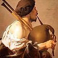 Brugghen's Bagpiper Player by Cora Wandel