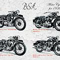 Bsa Motor Cycles For 1936 by Mark Rogan
