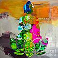 Buddah On A Lotus by Marvin Blaine