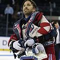 Buffalo Sabres V New York Rangers by Bruce Bennett