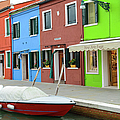 Burano Italy by Brandon Bourdages