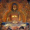 Byodo In - Amida Buddha by Mary Deal