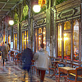 Caffe Florian Arcade by Heiko Koehrer-Wagner
