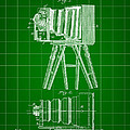 Camera Patent 1885 - Green by Stephen Younts