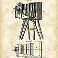 Camera Patent 1885 - Vintage by Stephen Younts