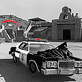 Cannonball Run 2 Brothel Set Mexican Plaza Old Tucson Arizona 1984 by David Lee Guss