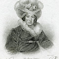 Caroline Of Brunswick  Amelia Elizabeth by Mary Evans Picture Library
