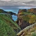 Carrick-a-rede Rope Bridge by Nina Ficur Feenan