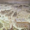 Castello, Fabrizio 1562-1617. Battle by Everett