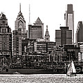 Center City Philadelphia by Olivier Le Queinec