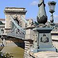 Chain Bridge Budapest by Ira Shander