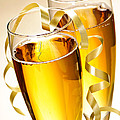 Champagne Glasses by Elena Elisseeva
