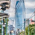 Charlotte North Carolina Light Rail Transportation Moving System by Alex Grichenko