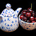 Cherries Invited To Tea by Andee Design