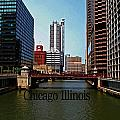 Chicago River by Gary Wonning
