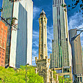 Chicago Water Tower Shopping by Christopher Arndt