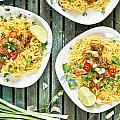 Chicken Noodles by Tom Gowanlock