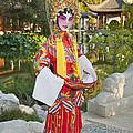 Chinese Opera Girl - In Full Traditional Chinese Opera Costumes. by Jamie Pham