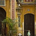 Chinese Temple In Hanoi Vietnam by Jacek Malipan