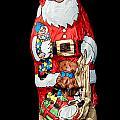 Chocolate Santa Claus by Frank Gaertner