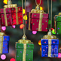 Christmas Present Ornaments by Jim Corwin